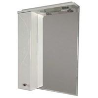 Зеркальный шкаф Aquaton Лиана 60 L белый  (1A162702LL01L)