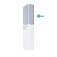 Шкафчик Aquaton Брук одностворчатый дуб латте (1A202503BCDL0)
