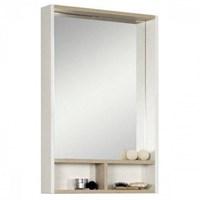 Зеркало Aquaton Йорк 55 белый, ясень фабрик (1A173202YOAV0)
