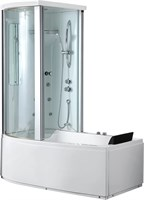 Акриловая ванна Gemy (G8040 B L)