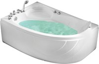 Акриловая ванна Gemy (G9009 B L)