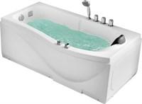 Акриловая ванна Gemy  (G9010 B L)