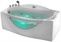 Акриловая ванна Gemy  (G9072 B L)