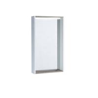 Зеркало Aquaton Бэлла белый, джарра  (1A221702BBAZ0)