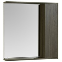 Зеркальный шкаф Aquaton Стоун 80 грецкий орех  (1A228302SXC80)