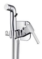 Смеситель c гигиеническим душем RUSH Capri встраиваемый  (CA1435-99)