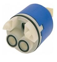Картридж RUSH с керамическими пластинами, D-40, высокий, син (RSH402)