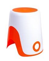 Корзина для белья 2в1 Fixsen Wendy  FX-7073-93 оранжевая (FX-7073-93)