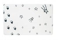 Коврик для ванной Fixsen Teddy Sky  белый 50х80см  (FX-6001S)