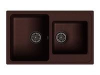 Мойка для кухни EWIGSTEIN Elegant ( E- 80D шоколад ) 2-чаш 780*480
