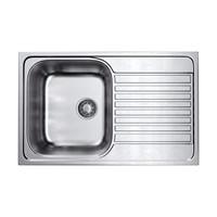 Кухонная мойка Omoikiri Kashiogawa 79-IN нерж.сталь/нержавеющая сталь  (4993452)