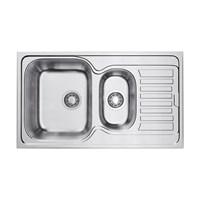 Кухонная мойка Omoikiri Kashiogawa 86-2-IN нерж.сталь/нержавеющая сталь  (4993454)
