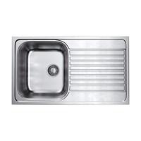 Кухонная мойка Omoikiri Kashiogawa 86-IN нерж.сталь/нержавеющая сталь  (4993453)