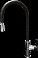 Смеситель для кухонной мойки GranFest  GF 7652  (7652 черный)