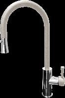 Смеситель для кухонной мойки GranFest  GF 7652  (7652 серый)