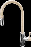 Смеситель для кухонной мойки GranFest  GF 7652  (7652 песочный)