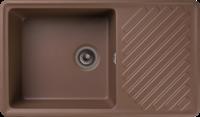 Мойка для кухни GranFest QUARZ Z 53 (Z 53 терракот) 479x851