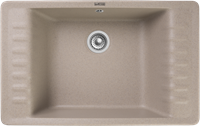 Мойка для кухни GranFest QUARZ Z 71 (Z 71 песочный) 475x752