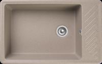 Мойка для кухни GranFest QUARZ Z 51 (Z 51 песочный) 476x753