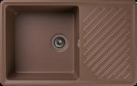 Мойка для кухни GranFest QUARZ Z 52 (Z 52 терракот) 477x753
