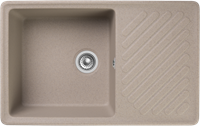 Мойка для кухни GranFest QUARZ Z 52 (Z 52 песочный) 477x753
