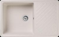 Мойка для кухни GranFest QUARZ Z 52 (Z 52 белый ) 477x753