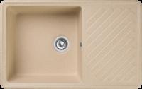 Мойка для кухни GranFest QUARZ Z 52 (Z 52 бежевый) 477x753