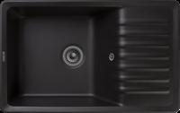 Мойка для кухни GranFest QUARZ Z 72 (Z 72 черный) 475x752