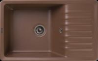 Мойка для кухни GranFest QUARZ Z 72 (Z 72 терракот) 475x752