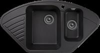 Мойка для кухни GranFest QUARZ Z 14 (Z 14 черный) 497x927