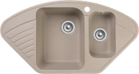 Мойка для кухни GranFest QUARZ Z 14 (Z 14 песочный) 497x927