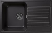 Мойка для кухни GranFest QUARZ Z 78 (Z 78 черный) 476x736
