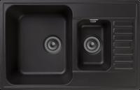 Мойка для кухни GranFest QUARZ Z 21K (Z 21K черный) 480x737