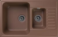 Мойка для кухни GranFest QUARZ Z 21K (Z 21K терракот) 480x737