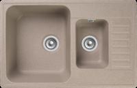 Мойка для кухни GranFest QUARZ Z 21K (Z 21K песочный) 480x737
