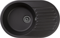 Мойка для кухни GranFest QUARZ Z 18 (Z 18 черный) 478x737