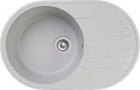 Мойка для кухни GranFest QUARZ Z 18 (Z 18 серый) 478x737