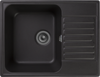 Мойка для кухни GranFest QUARZ Z 13 (Z 13 черный) 477x618