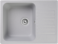 Мойка для кухни GranFest QUARZ Z 13 (Z 13 серый) 477x618