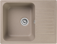 Мойка для кухни GranFest QUARZ Z 13 (Z 13 песочный) 477x618