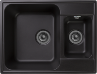 Мойка для кухни GranFest QUARZ Z 09 (Z 09 черный) 480x617