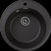 Мойка для кухни GranFest QUARZ Z 08 (Z 08 черный) D 479xD 479