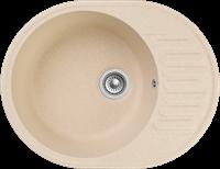 Мойка для кухни GranFest QUARZ Z 58 (Z 58 бежевый) 480x617