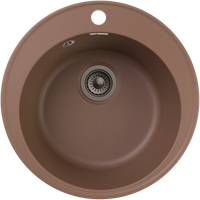 Мойка для кухни GranFest QUARZ Z 08 (Z 08 терракот) D 479xD 479