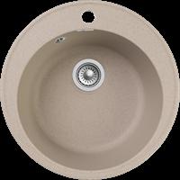 Мойка для кухни GranFest QUARZ Z 08 (Z 08 песочный) D 479xD 479