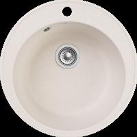 Мойка для кухни GranFest QUARZ Z 08 (Z 08 белый ) D 479xD 479
