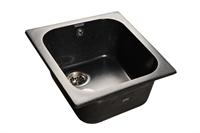 Мойка для кухни GranFest STANDART S-440 (S-440 черный) 500x430