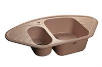 Мойка для кухни GranFest CORNER C-960 E  (C-960 E  светло-розовый) 505x950