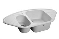 Мойка для кухни GranFest CORNER C-960 E  (C-960 E  иней) 505x950