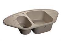 Мойка для кухни GranFest CORNER C-960 E  (C-960 E  белый) 505x950